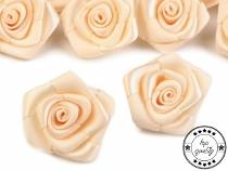 Decorative Satin Rose Ø30 mm