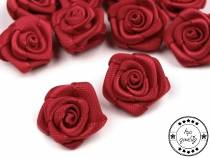 Decorative Satin Rose Ø15 mm