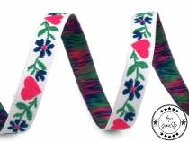 Folk Costume Patterned Ribbon 9 mm