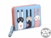 Kids Wallet Cats 9x11.5 cm