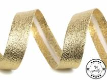 Bias Binding Tape folded width 20 mm silver, gold