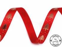Christmas Satin Ribbon Tree width 10 mm