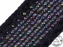 Clothing Braid with Beads width 28 mm