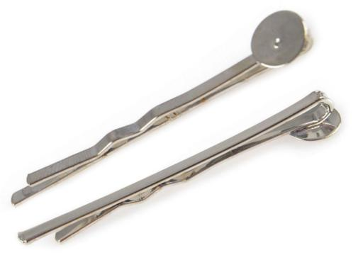 Hair Pin  47mm with pad Ø8mm