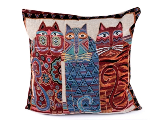 Cushion Cover Cats 44x44 cm