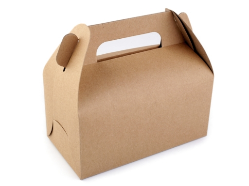 Paper Box Natural with Handle