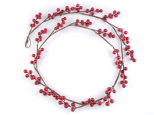 Artificial Rowan Berry Twig