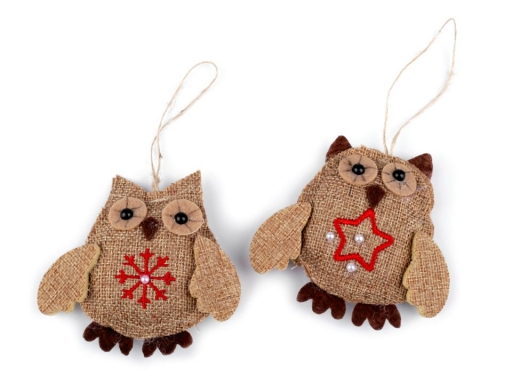 Jute Decoration Owl