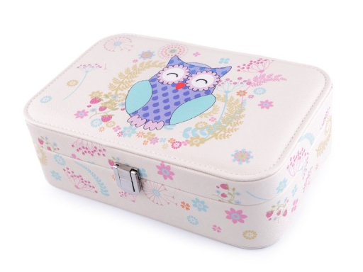 Jewellery Box Owl 7x14x22 cm
