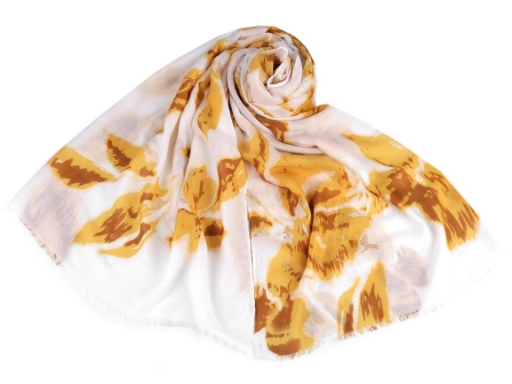 Scarf / Shawl with Gold Printing 85x180 cm