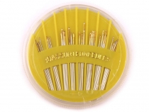 Assorted Hand Needles Kompakt Sharps, Gold-Eye