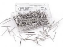 Metal Straight Head Pins Galant length 16 mm
