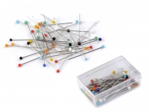Glass Head Pins length 30 mm