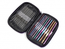 Set of Crochet Hooks in the Case