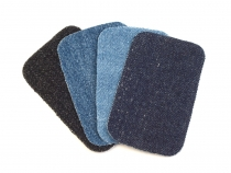 Denim Iron-on Patches 7.6x4.9 cm