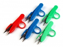 Thread Cutting Scissors length 12 cm with plastic handle