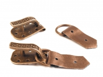 Buckle for coats KESKA  width 10 mm length 50 mm