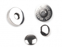 Magnetic Snap Cloasure Ø18 mm with Rivets