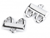 Jewellery Component Clasp 24x26 mm 2 Rows