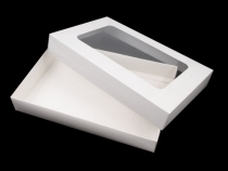 Paper Box with Transparent Lid
