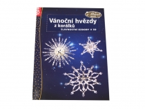Book: Christmas Stars made of Beads, in Czech Language