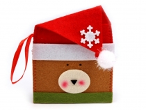Christmas Pouch 12x15 cm