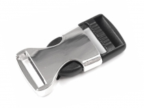 Side release buckle with strap adjuster KOMBI, inner width 20mm