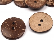 "Coconut Buttons size 60"" double-sided"