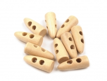 Wooden Toggle Button 21 mm
