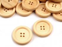 Wooden Button size 40