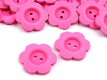 Wooden Bloom Button size 48