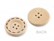Wooden Button size 36