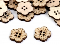 Wooden Button Size 26