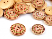 Wooden Button size 24