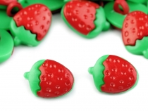 Button Strawberry size 24