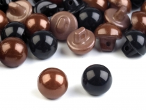 Black Dome Buttons Eyes 15