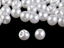 Sew-on Faux Pearl Bead / Button Ø6 mm