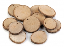 Natural Wood Tree Branch Slice / Wood Circle