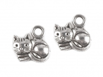 Charm Pendant CAT 13x14mm