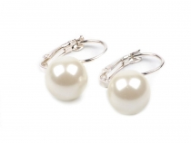 Clip On Faux Pearl Earrings Teresa
