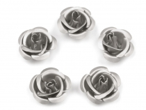 Metal Rose Bead Excellent Ø15 mm