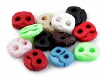 Cord Lock Stopper Toggles 20x20 mm 2-hole