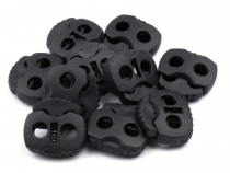 Cord Lock Stopper Toggles 2-hole 20x20 mm