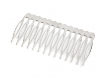 Metal Hair Comb  40x75 mm