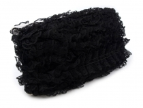 Lace Trim with Ruffles width 45 mm