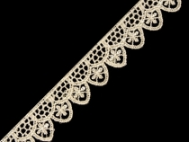 Lace Applique Sewing Trim width 19 mm