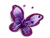 Applique Butterfly to sew on 5x5.5 cm