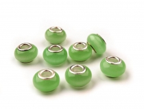 Mix Color Cat Eye Glass Beads 8x13 mm