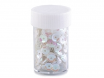 Loose Cupped Sequins in Jar Ø6 mm 7 g