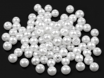 Imitation Pearl Beads Ø6 mm